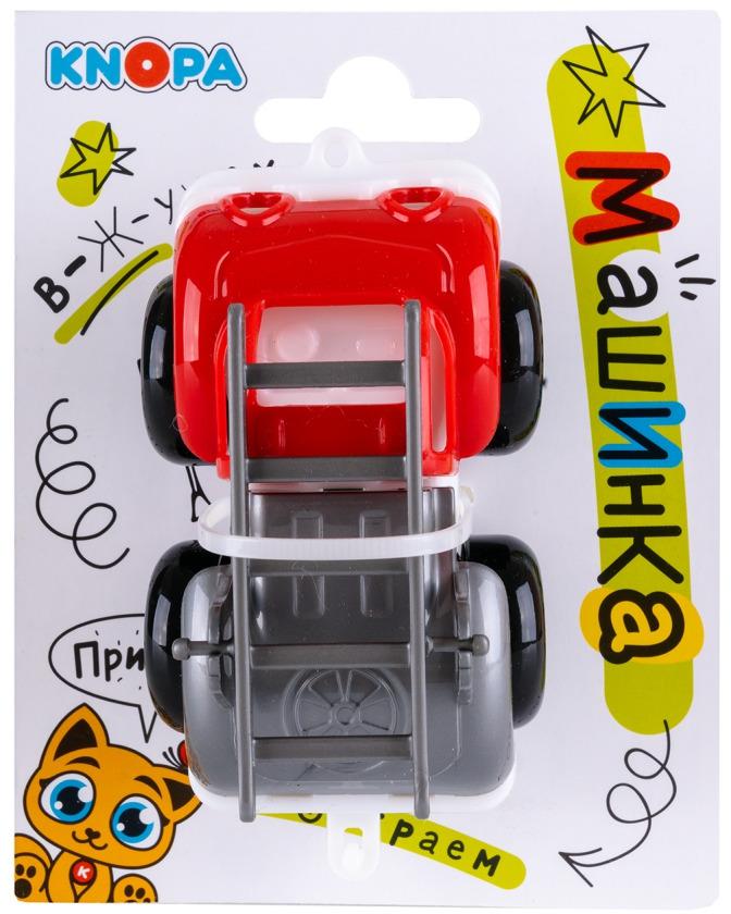 Пожарная машина Knopa Вжух в городе86221Машинка пожарная Вжух в городе с мультяшным дизайном всегда под рукой. Ее удобно взять с собой на прогулку, в песочницу, в дорогу, на дачу. Безопасный материал полипропилен, из которого изготовлена машинка, имеет глянцевую поверхность и яркие краски. Она прекрасно моется после прогулки и умещается в детском рюкзаке по несколько штук, а демократичная цена позволяет создавать целые тематические коллекции.