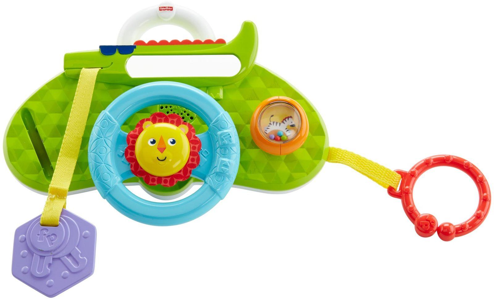 Fisher-Price Развивающая игрушка Обучающий руль Львенок