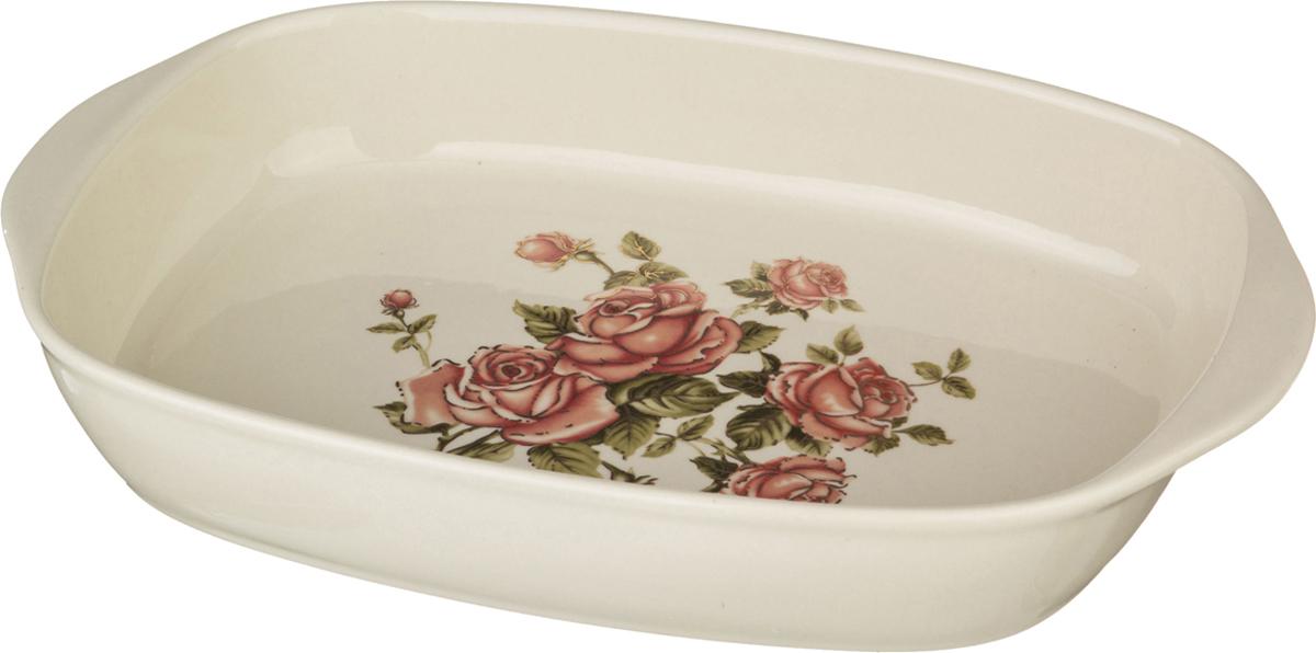 Блюдо-шубница Lefard Корейская роза, 29 х 18 х 5 см. 388208 розетка lefard корейская роза 11см фарфор