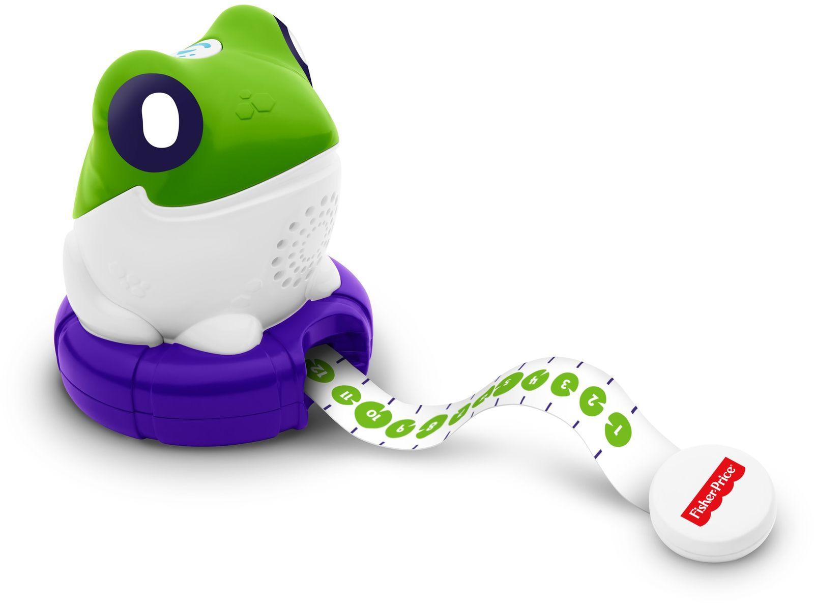 Fisher-Price Развивающая игрушка Лягушка Измеряем и сравниваем