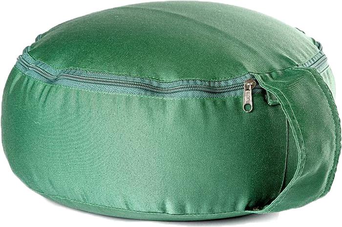 Подушка для медитации RamaYoga Spiritual, цвет: зеленый подушка для медитации spiritual