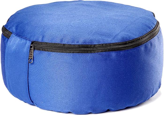 Подушка для медитации RamaYoga Spiritual, цвет: синий подушка для медитации spiritual