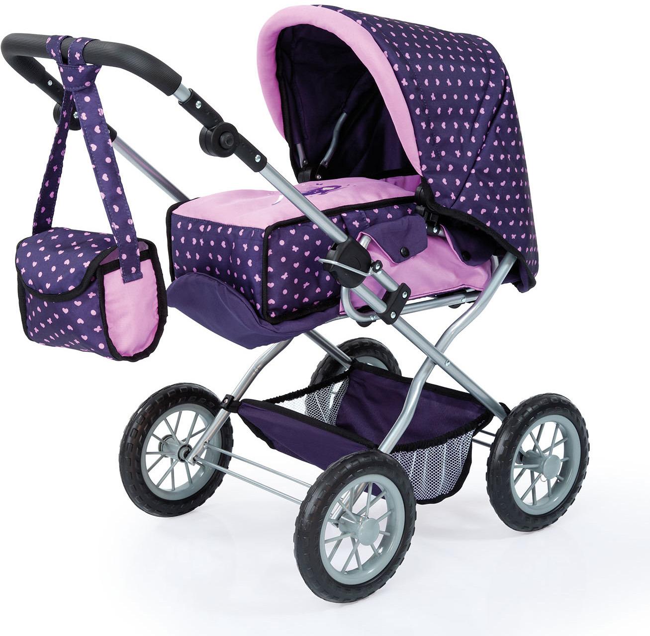 Bayer Транспорт для кукол Коляска Гранде 15075AA коляска для кукол bayer design тренди цвет серый розовый