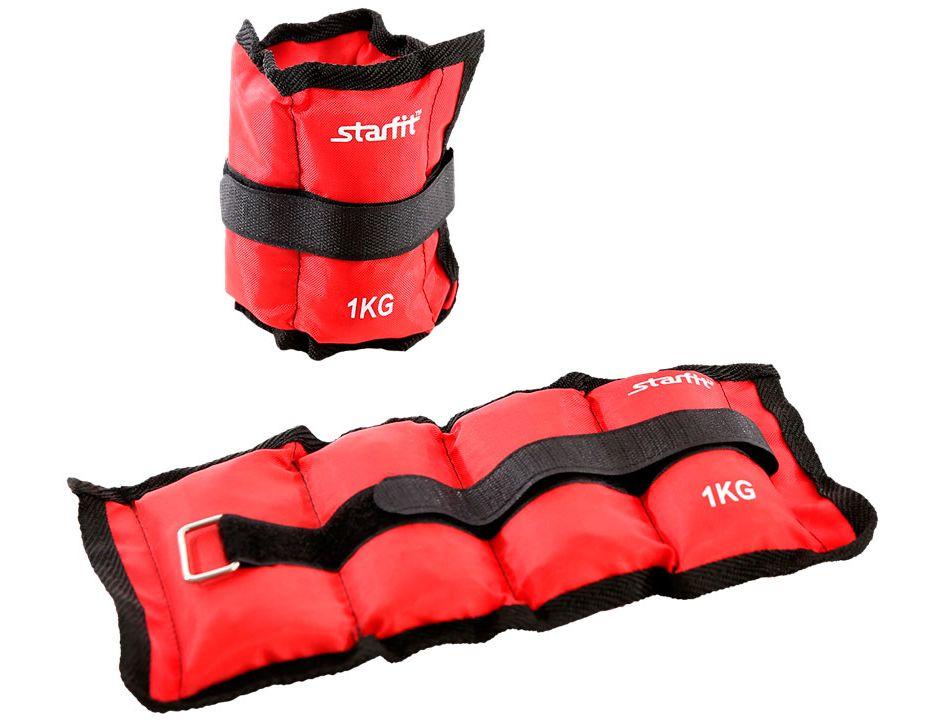 Утяжелители StarFit WT-401 1 кг, красныйУТ-00010046Утяжелители WT-401 используются в функциональном тренинге как аксессуар для отягощения рук и ног. Возможна фиксация как на руках, так и на ногах, размер регулируется с помощью велкро-липучки. Практичный тканевый материал оксфорд не покрывается затяжками после многократного использования липучек. Наполнитель – железная стружка. В комплекте стильная и практичная сумка с утяжками для удобного хранения, она продлит срок службы изделия. Тренировка с утяжелителями укрепляет сердечно-сосудистую систему, помогает привести мышцы в тонус, развивает выносливость, силу, взрывную скорость. Улучшается общее состояние организма. Дополнительная нагрузка способствует сжиганию большего количества калорий, позволяя добиться лучшего результата тем, кто хочет похудеть. Характеристики: Материал: полиэстер, нейлон, металл Вес одного утяжелителя, кг: 1 Наполнитель: железная стружка Цвет: красный Длина, см: 35 Ширина, см: 15 Длина велкро-липучки, см: 47 Ширина велкро-липучки, см: 2,5 Тип упаковки: сумка на затягивающихся шнурках Размер упаковки, см: 13х10х19.5 В комплекте, шт.: 2 Вес брутто: 2 кг.