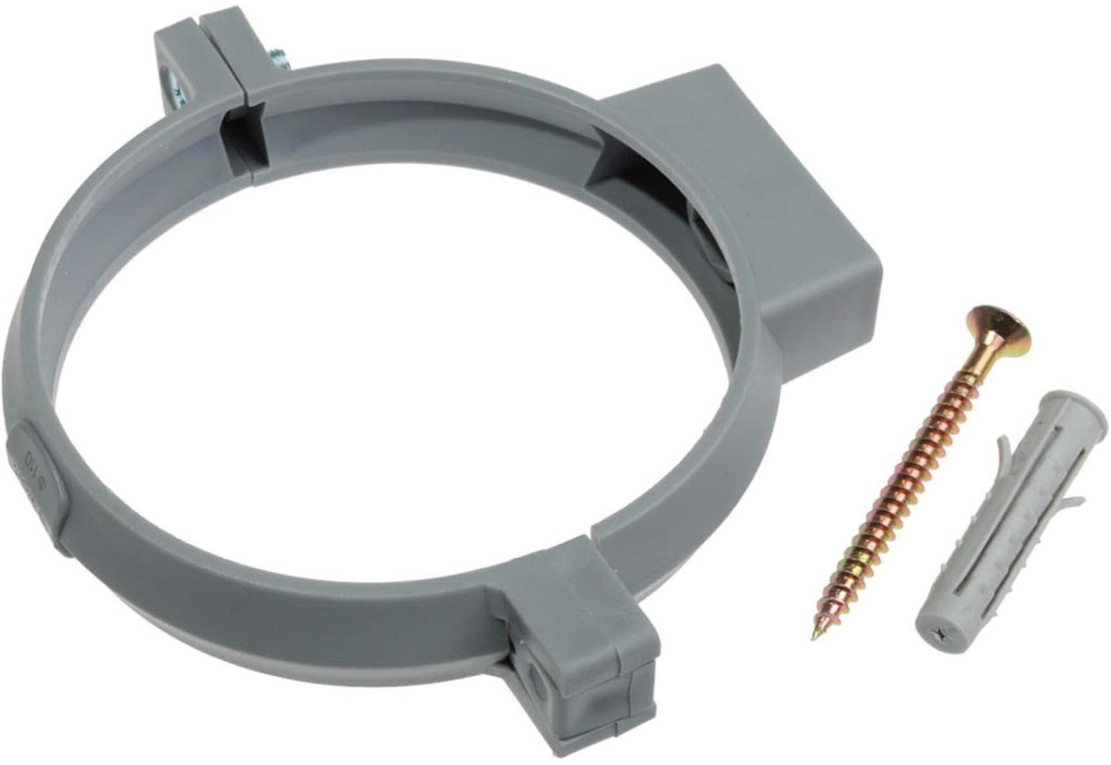 цена на Кронштейн одинарный пластиковый MasterProf, с дюбелем, 110 мм, 2 шт