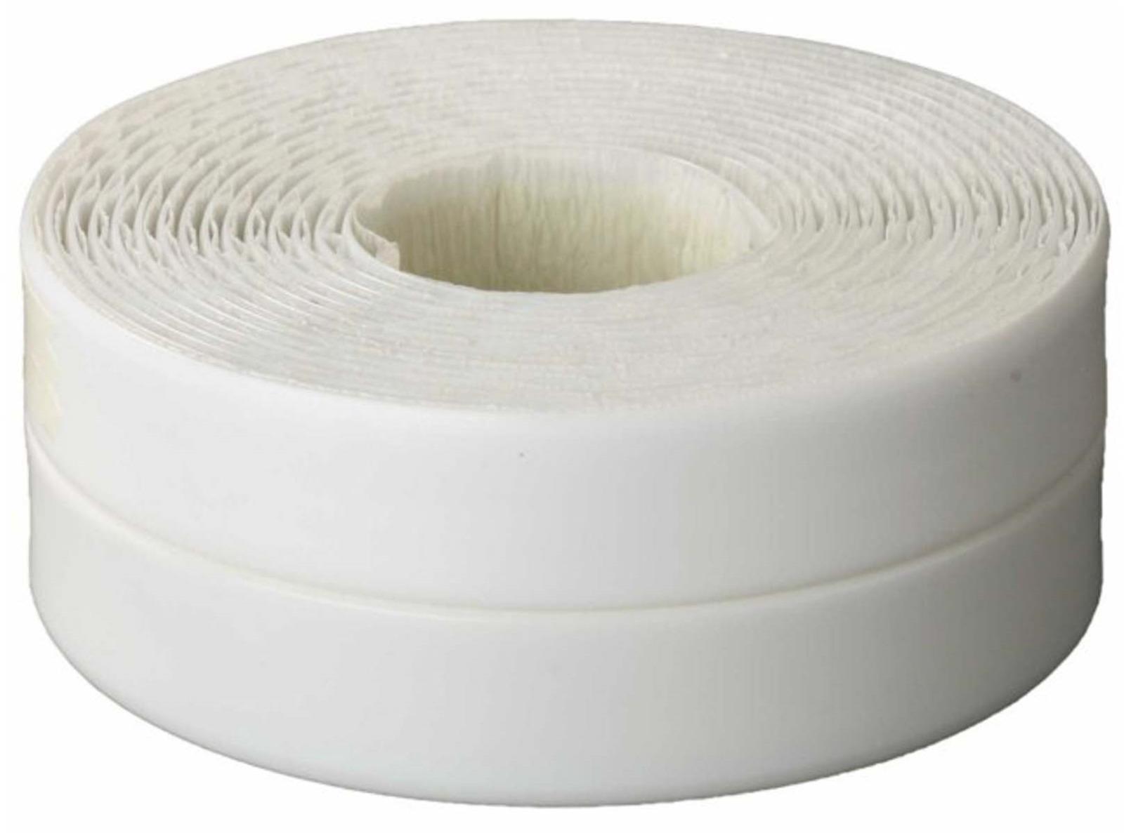 Лента бордюрная MasterProf, герметик, 40 мм, уп.3.35м, цвет: белый