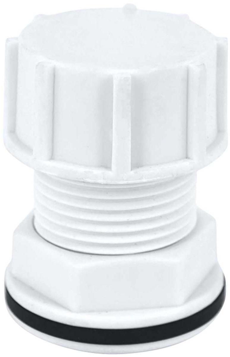 Штуцер в бак MasterProf, с прокладкой 1 (пластик), MP-У набор фитингов для подключения насоса 1