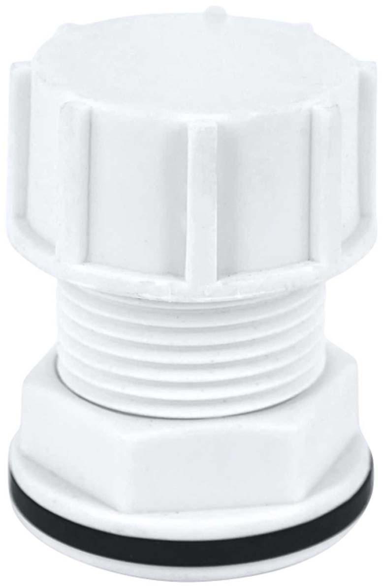 Штуцер в бак MasterProf, с прокладкой 1/2 (пластик), MP-У набор фитингов для подключения насоса 1