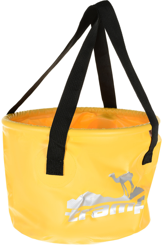 Ведро Tramp, цвет: желтый, 8 л. TRC-070 tramp trc 031