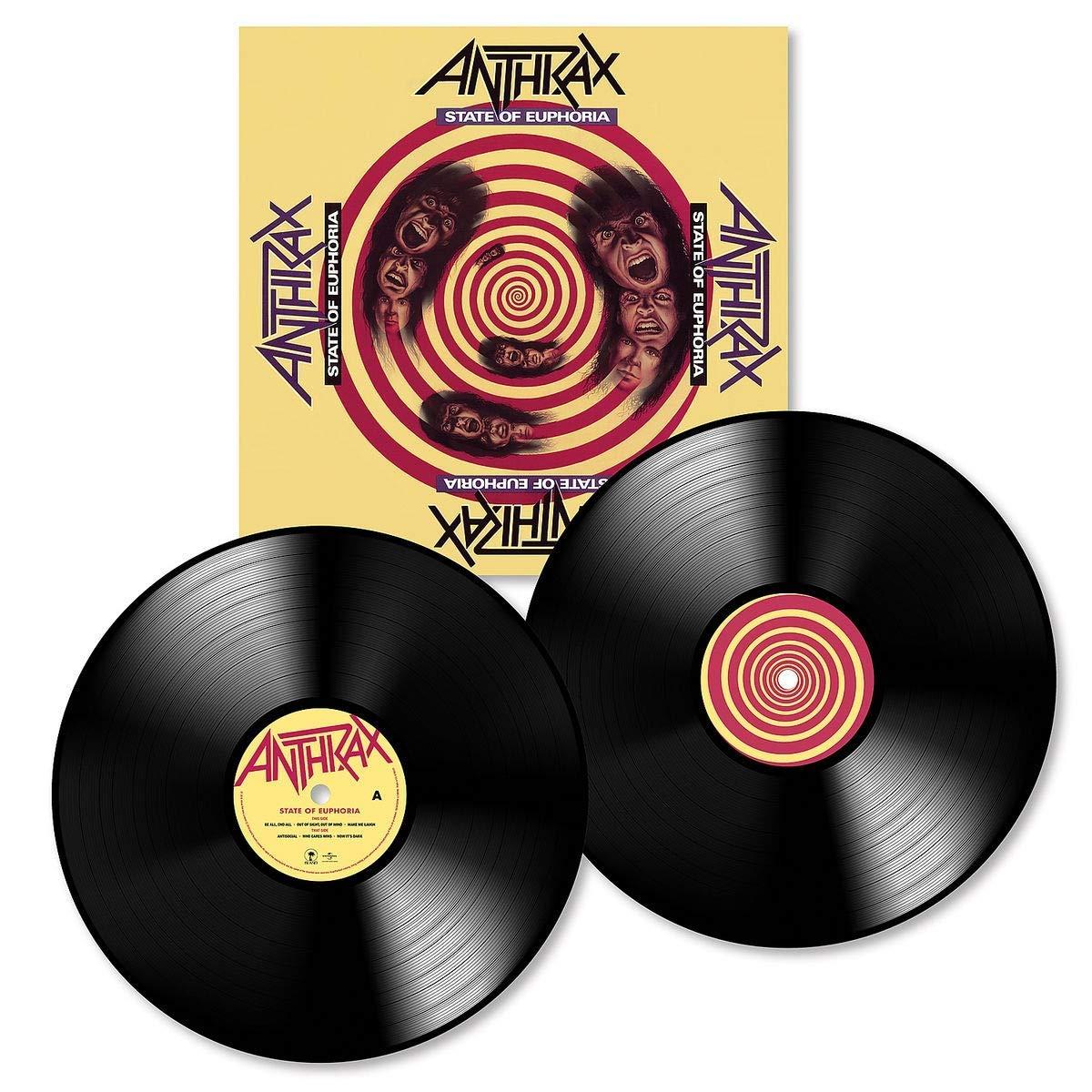 Anthrax Anthrax. State Of Euphoria (2 LP) anthrax – state of euphoria