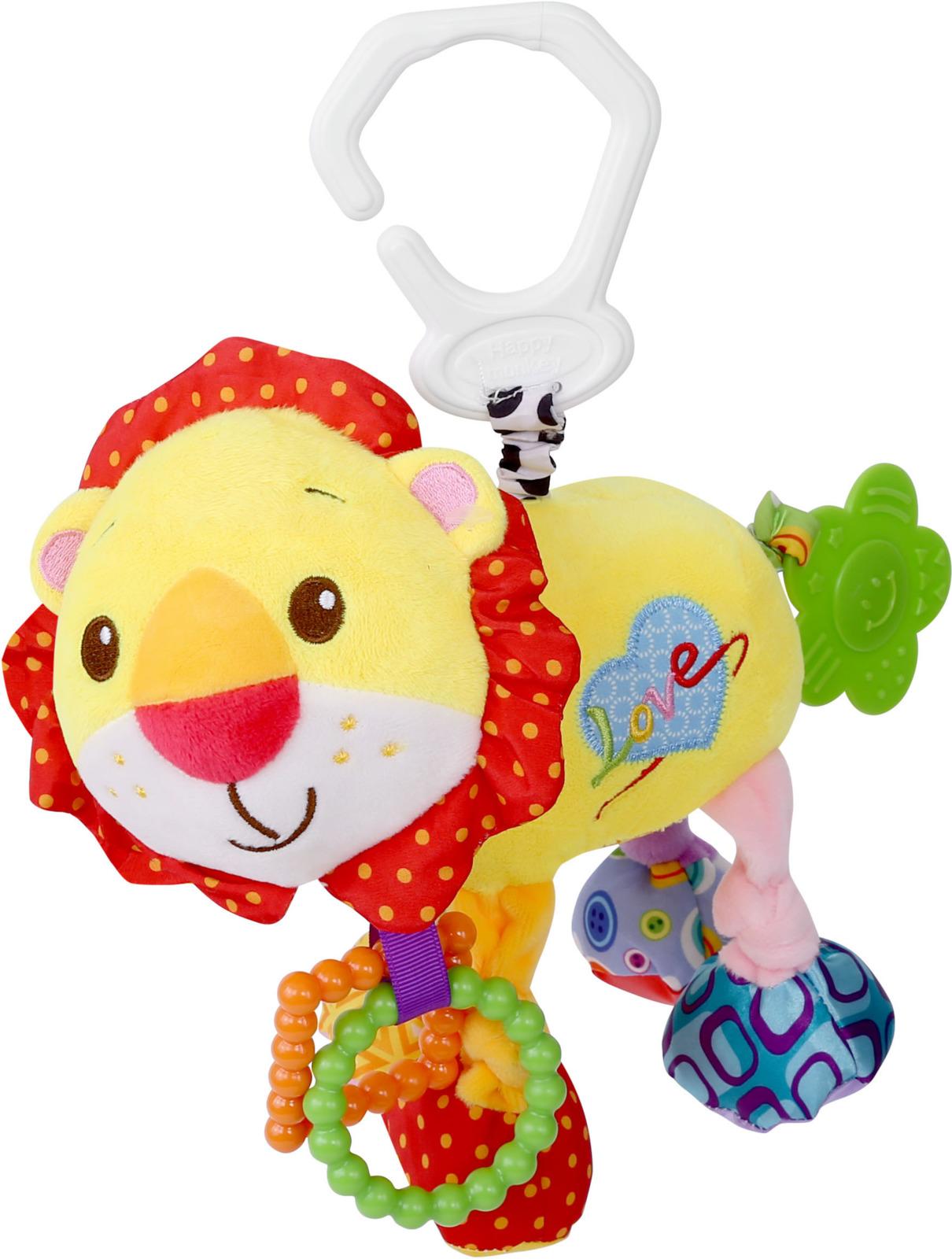 Развивающая игрушка Lorelli Toys Лев. 1019116 развивающая игрушка lorelli toys слоник 1019117
