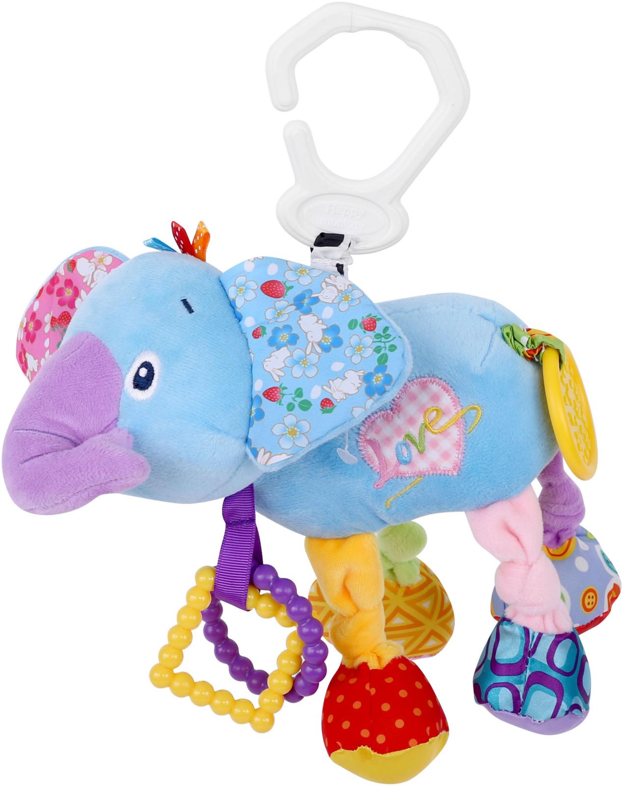 Развивающая игрушка Lorelli Toys Слоник. 1019117 развивающий коврик lorelli toys развивающий коврик lorelli toys с интерактивным столиком 105 х 65 см 1030038