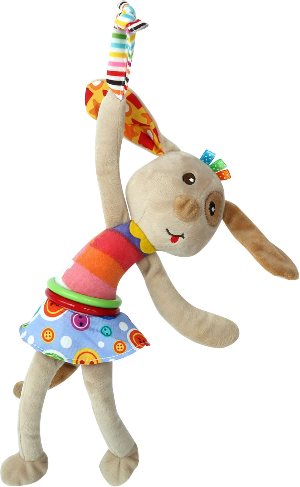 Развивающая игрушка с вибрацией Lorelli Toys Собачка. 10191200003 развивающая игрушка lorelli toys обними меня мартышка 10191260001