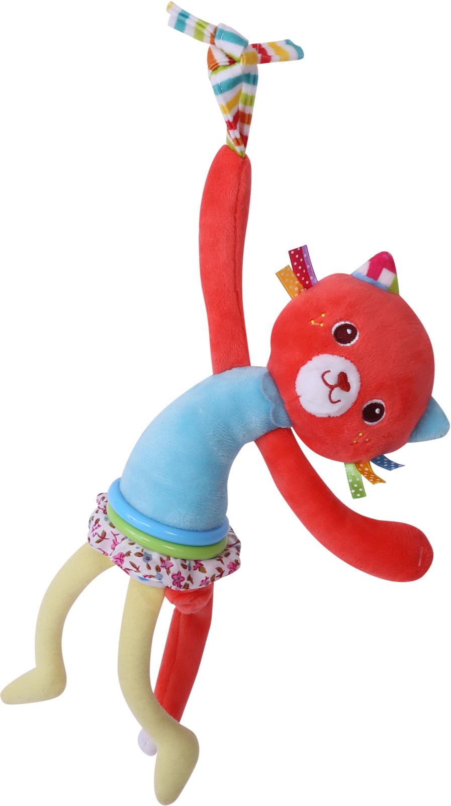 Развивающая игрушка с вибрацией Lorelli Toys Котик. 10191200004 развивающая игрушка lorelli toys слоник 1019117