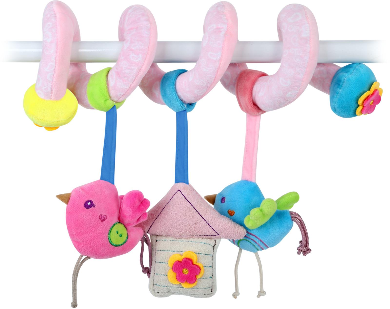 Развивающая игрушка спираль Lorelli Toys Милый дом. 10191210001 развивающая игрушка lorelli toys слоник 1019117