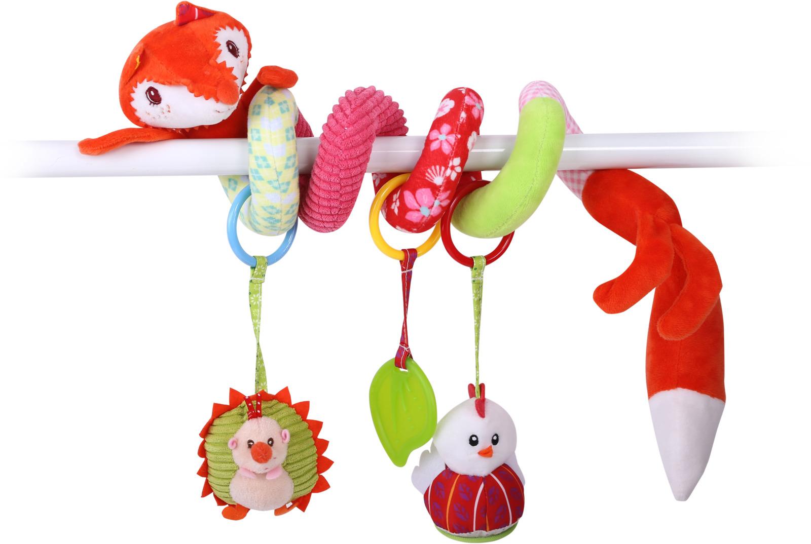 Развивающая игрушка спираль Lorelli Toys Лисичка. 1019122 развивающая игрушка lorelli toys обними меня мартышка 10191260001