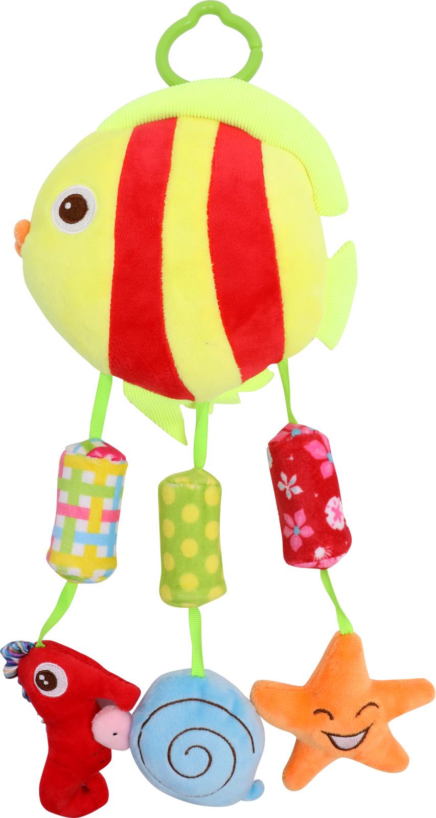 Подвесная мягкая игрушка Lorelli Toys Рыбка и компания. 10191230001 для младенцев мягкая игрушка запястье погремушки ножки