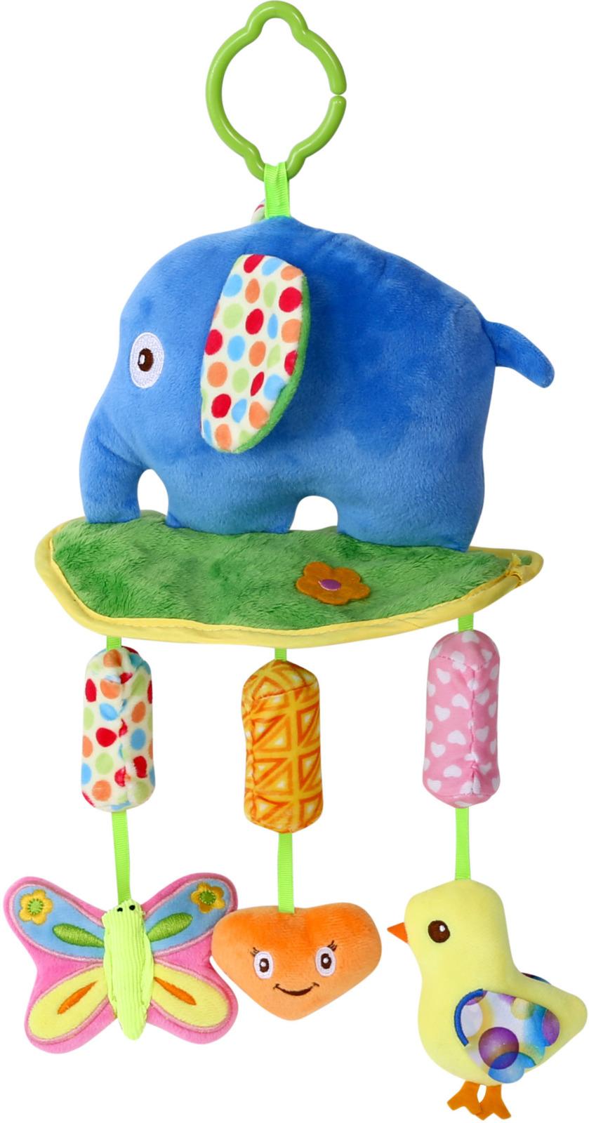 Подвесная мягкая игрушка Lorelli Toys Слоник и компания. 10191230003 развивающая игрушка lorelli toys слоник 1019117