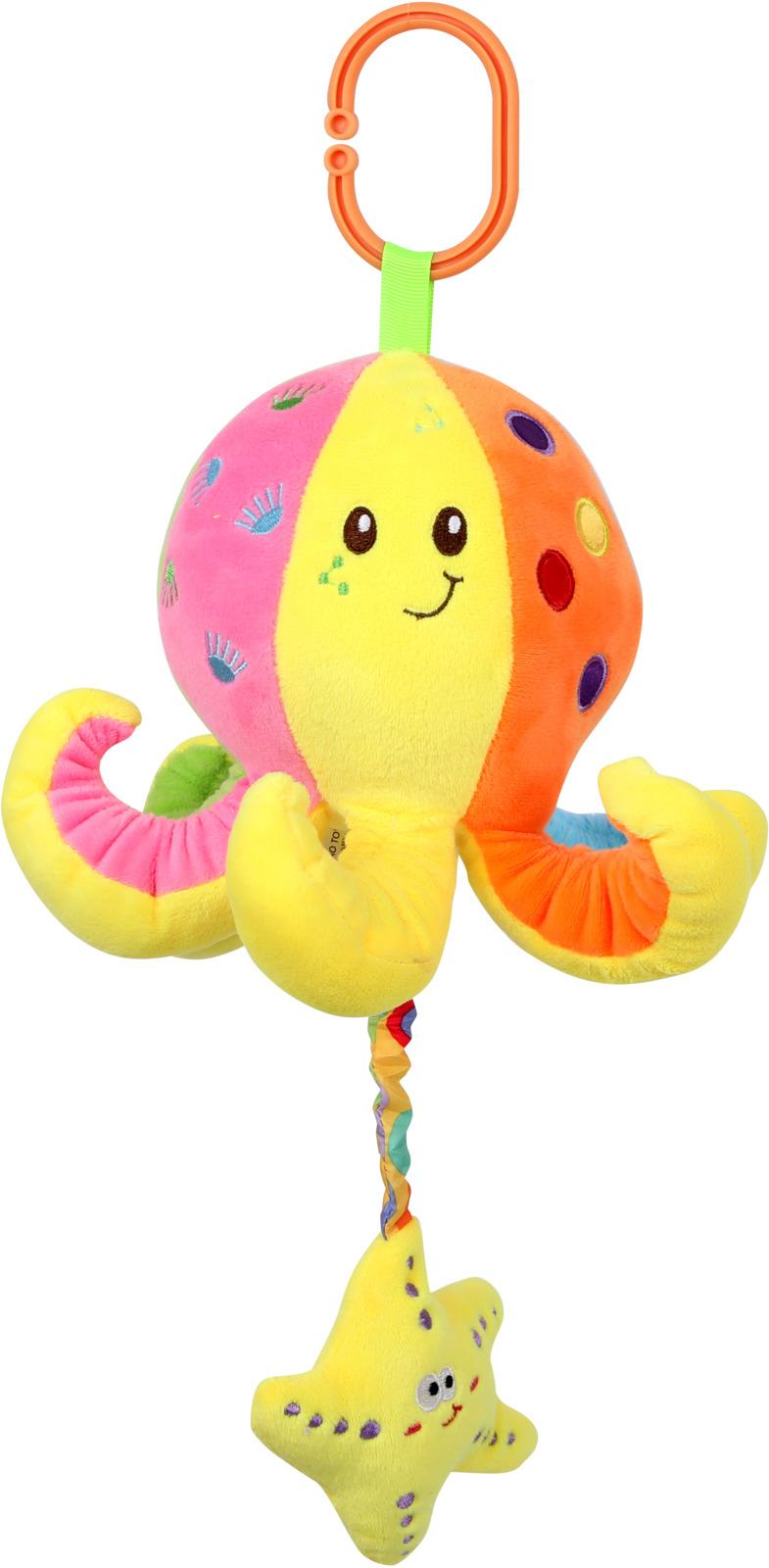 Подвесная музыкальная игрушка Lorelli Toys Осминожка. 10191250002 игрушка подвеска lorelli toys 1019112