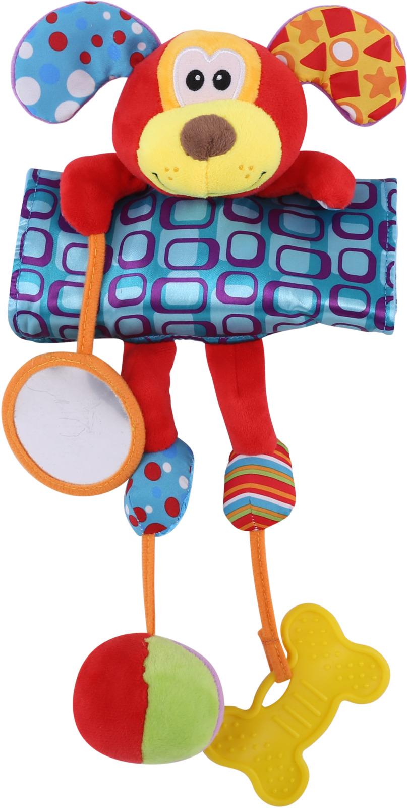 Развивающая игрушка Lorelli Toys Обними меня. Собачка. 10191260002 развивающая игрушка lorelli toys обними меня мартышка 10191260001