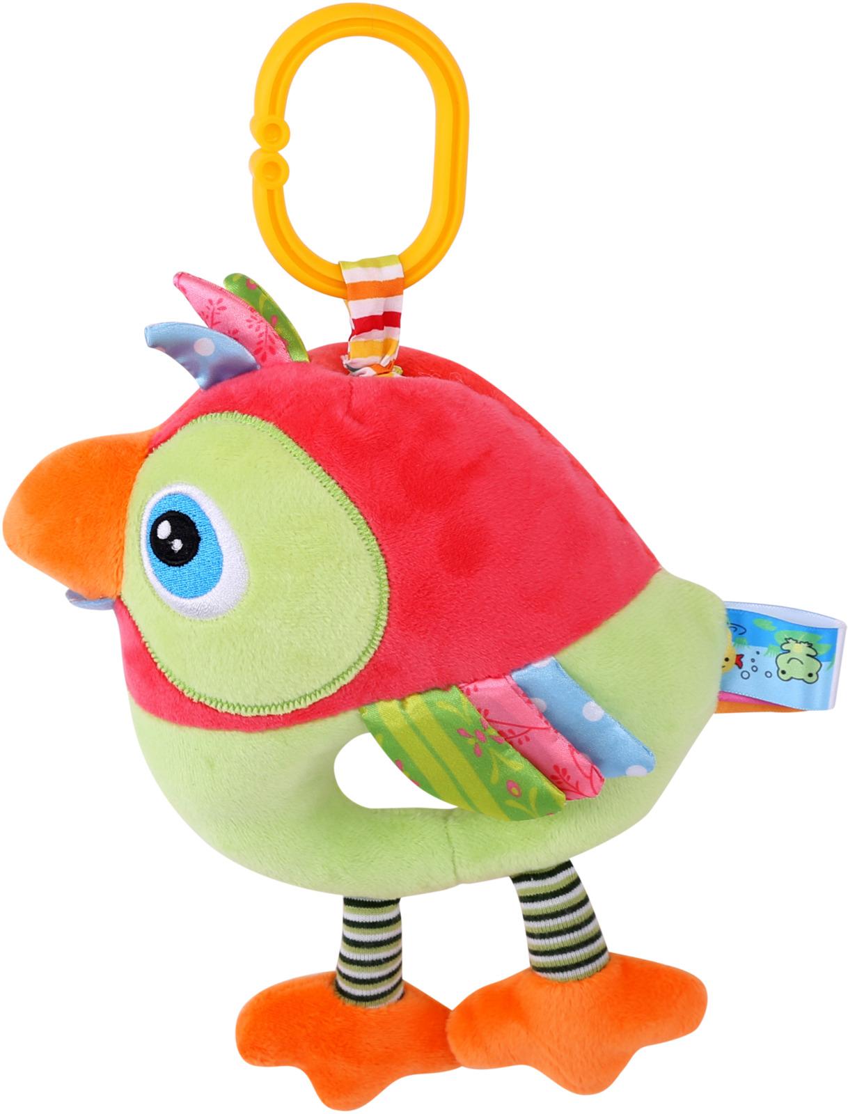 Подвесная музыкальная игрушка Lorelli Toys Попугай. 10191270003 игрушка подвеска lorelli toys 1019112