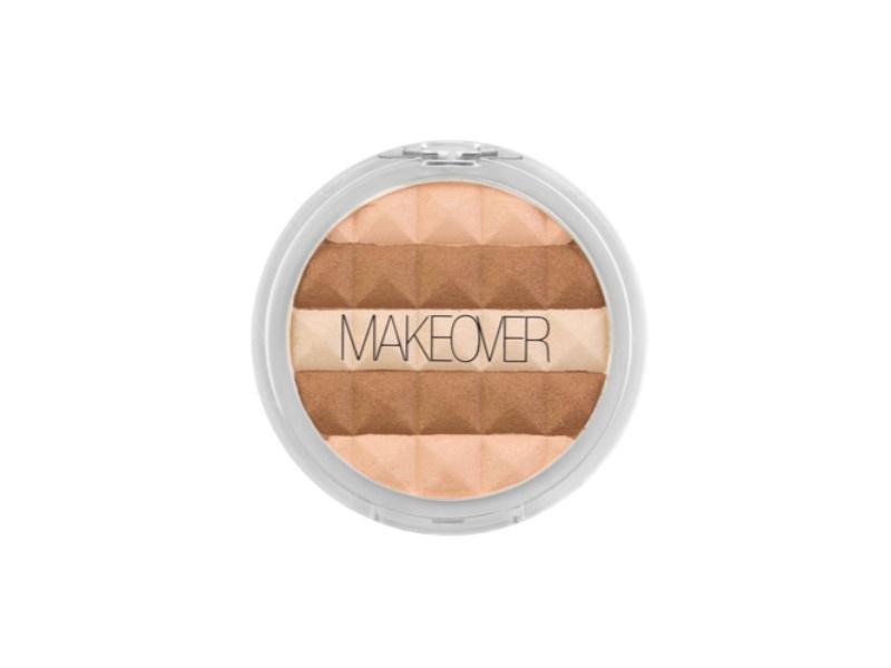 Пудра бронзирующая Makeover Paris Sheer Bronzing powder, 14 г