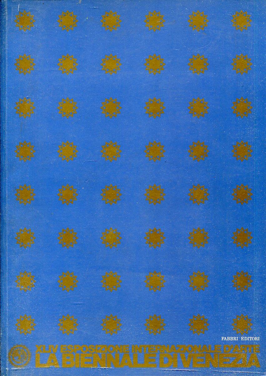 XLIV ESPOSIZIONE INTERNAZIONALE D'ARTE LA BIENNALE DI VENEZIA 1990 простыня махровая fiera di venezia 200х220