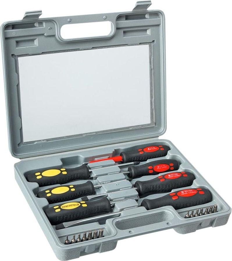 Набор отверток и насадок Top Tools, 21 шт сменные наконечники с держателем 14 шт topex 39d518