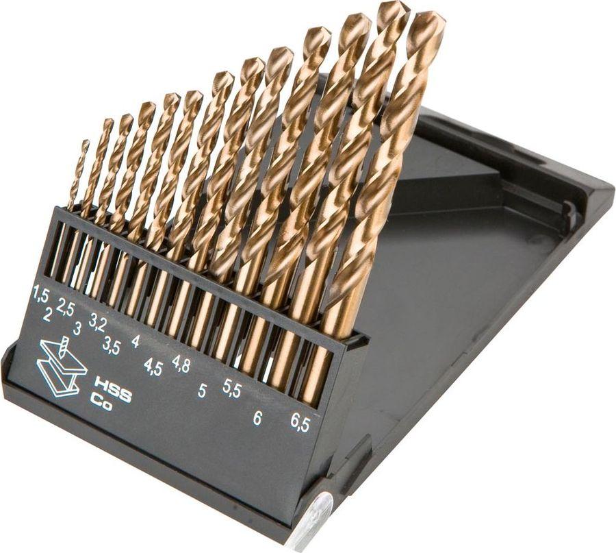 Набор сверл по металлу Graphite HSS-Co, 1,5-6,5 мм, 13 шт