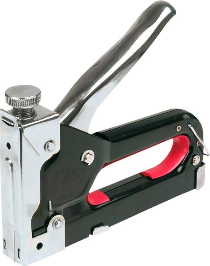 Степлер строительный Top Tools, 4-14 мм, скобы J механический степлер novus j 19 eadhg 030 0386