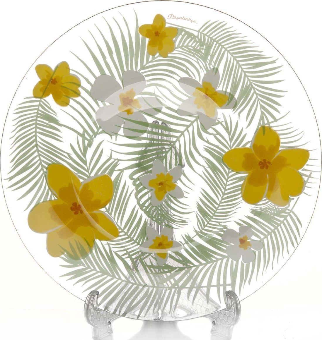 "Тарелка десертная Pasabahce ""Бали"", диаметр 19,5 см"