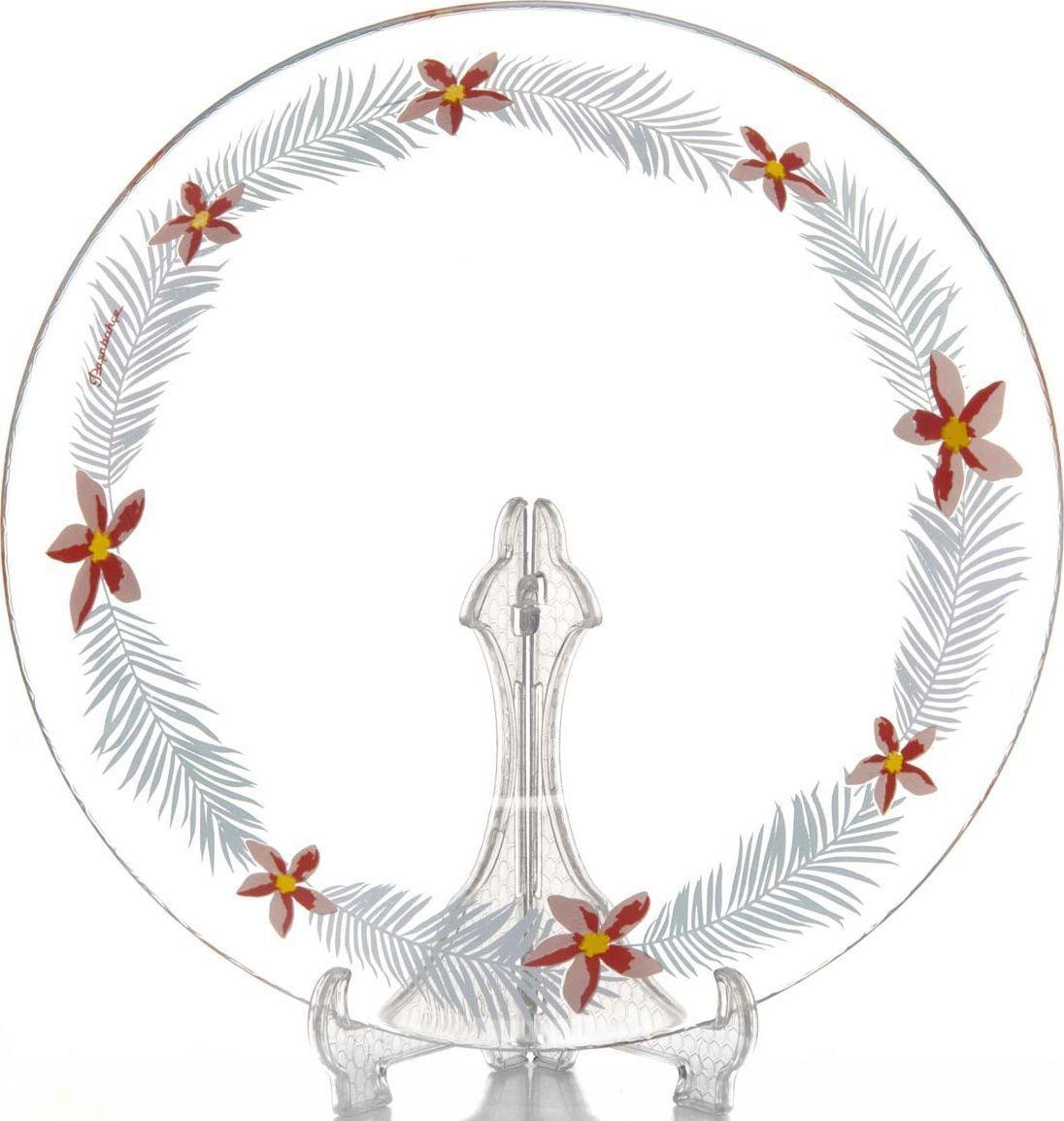Тарелка глубокая Pasabahce Тропик, диаметр 22 см тарелка глубокая chinbull грация диаметр 23 см