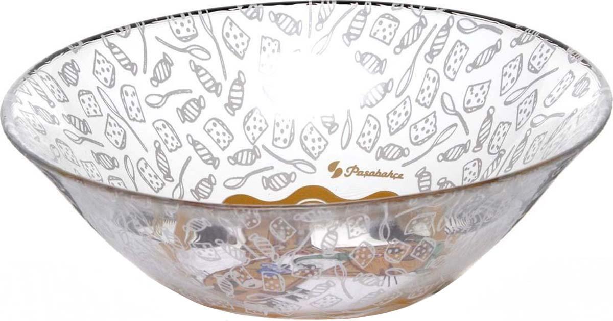 Салатник Pasabahce Три кота, диаметр 14 см салатник pasabahce pleasure 14 см
