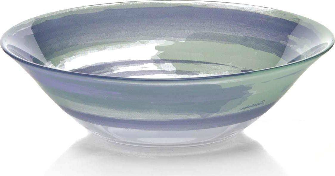 Салатник Pasabahce Акварель, диаметр 23 см салатник pasabahce lemon 23 см