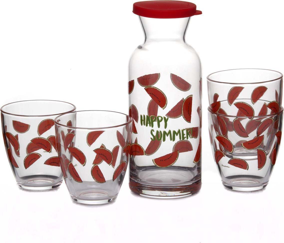 Набор для вина Pasabahce Джангл. Арбуз, 5 предметов набор для вина wine time 4115806 5 предметов