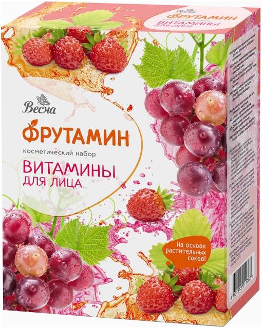 """Косметический подарочный набор для лица Весна """"Фрутамин. Витамины"""" 498-2474"""