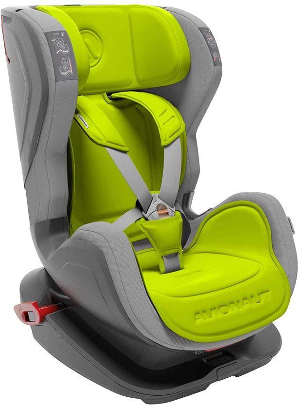 Автокресло Avionaut Glider, цвет: зеленый, серый, от 9 до 25 кг автокресло avionaut evolvair royal цвет коричневый синий от 9 до 36 кг