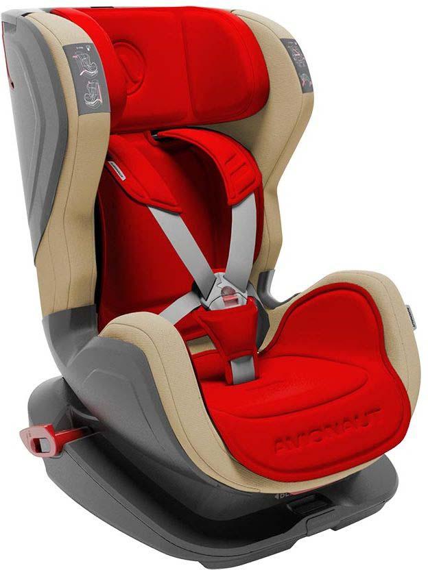 Автокресло Avionaut Glider, цвет: красный, бежевый, от 9 до 25 кг автокресло avionaut evolvair royal цвет коричневый синий от 9 до 36 кг