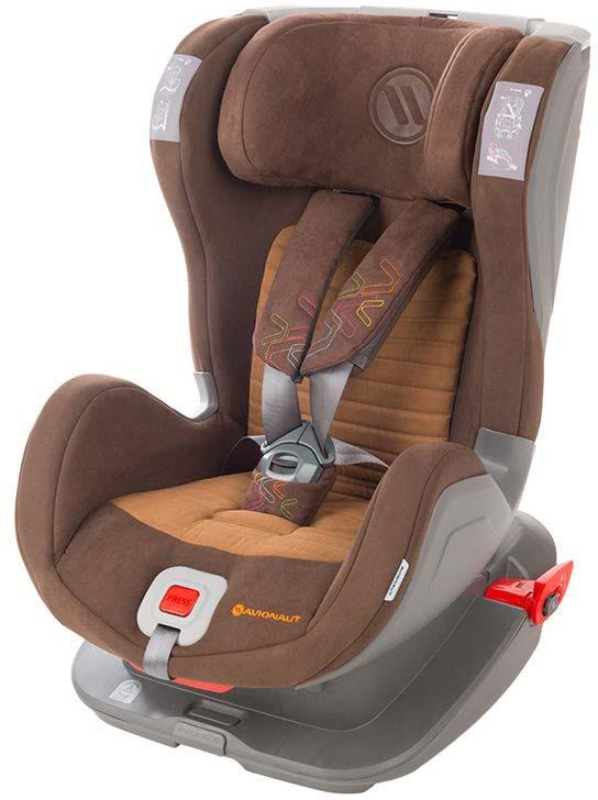 Автокресло Avionaut Glider Softy, цвет: коричневый, от 9 до 25 кг автокресло avionaut evolvair royal цвет коричневый синий от 9 до 36 кг