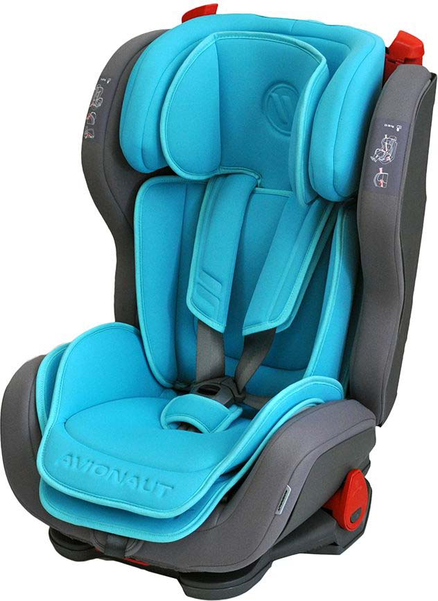 Автокресло Avionaut Evolvair, цвет: голубой, серый, от 9 до 36 кг автокресло avionaut evolvair royal цвет коричневый синий от 9 до 36 кг