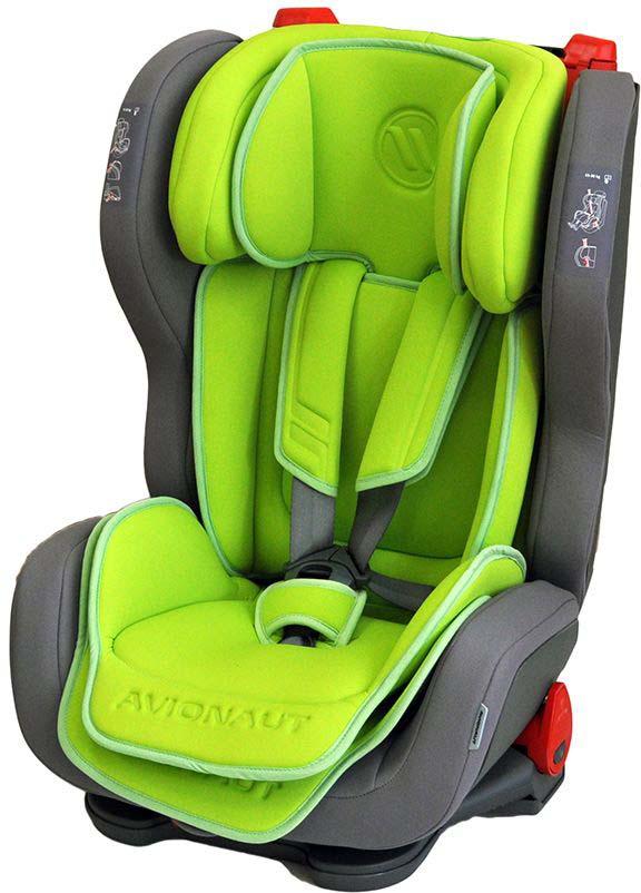 Автокресло Avionaut Evolvair, цвет: зеленый, серый, от 9 до 36 кг автокресло avionaut evolvair royal цвет коричневый синий от 9 до 36 кг