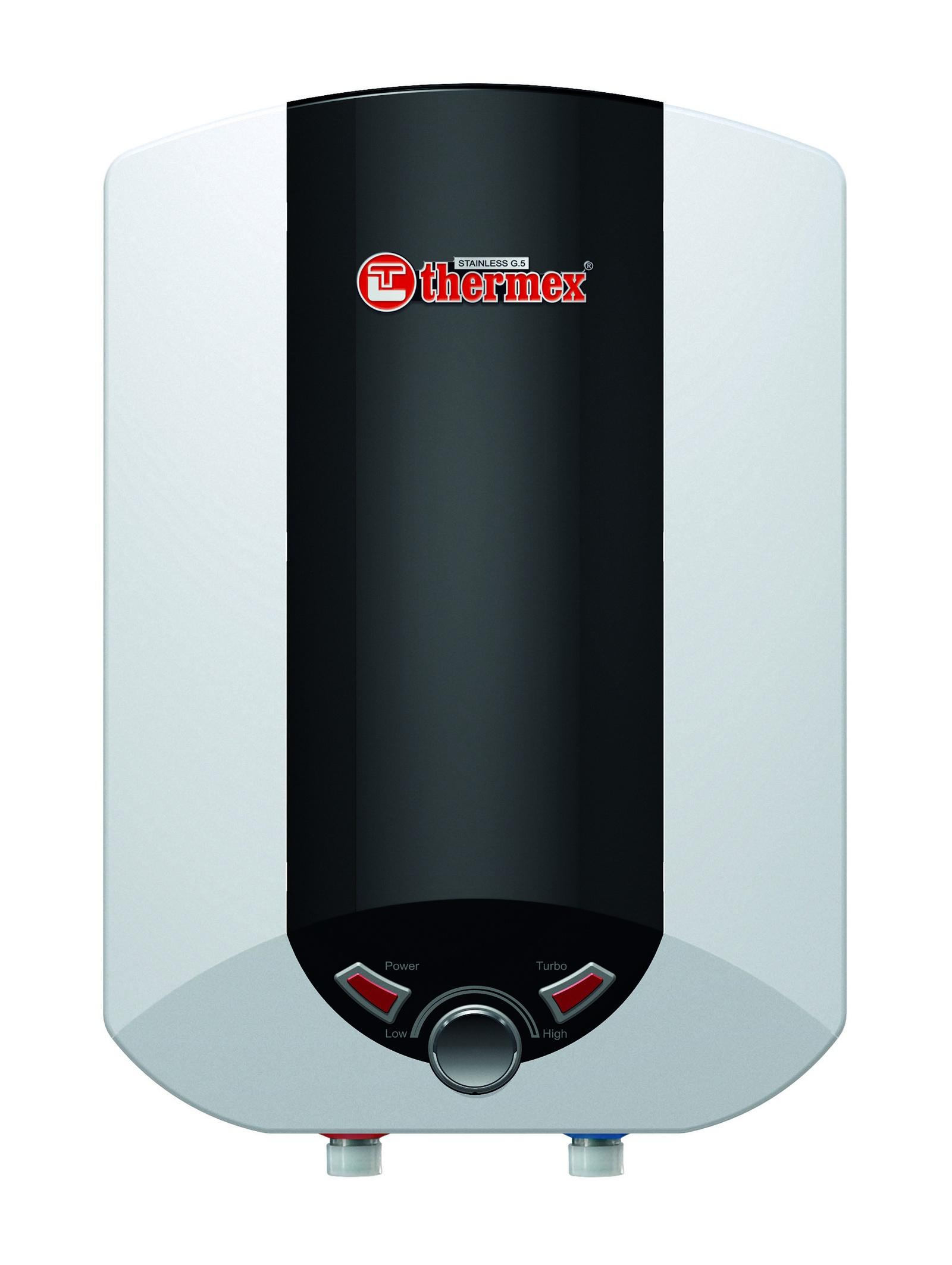 Водонагреватель накопительный электрический THERMEX IBL 10 O, 10 л, белый, черный