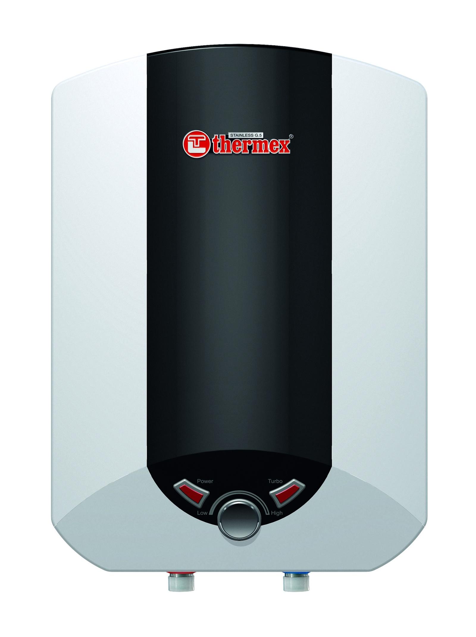 Водонагреватель накопительный электрический THERMEX IBL 15 O, 15 л, белый, черный