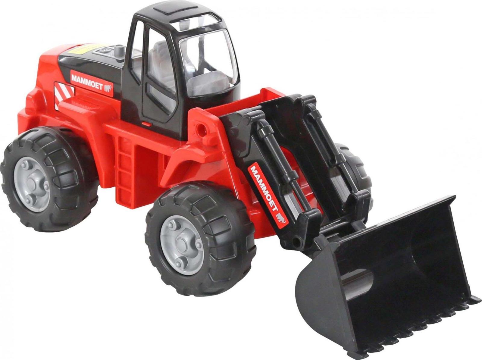 Трактор-погрузчик Полесье Mammoet, цвет в ассортименте трактор полесье трактор погрузчик умелец оранжевый 159238