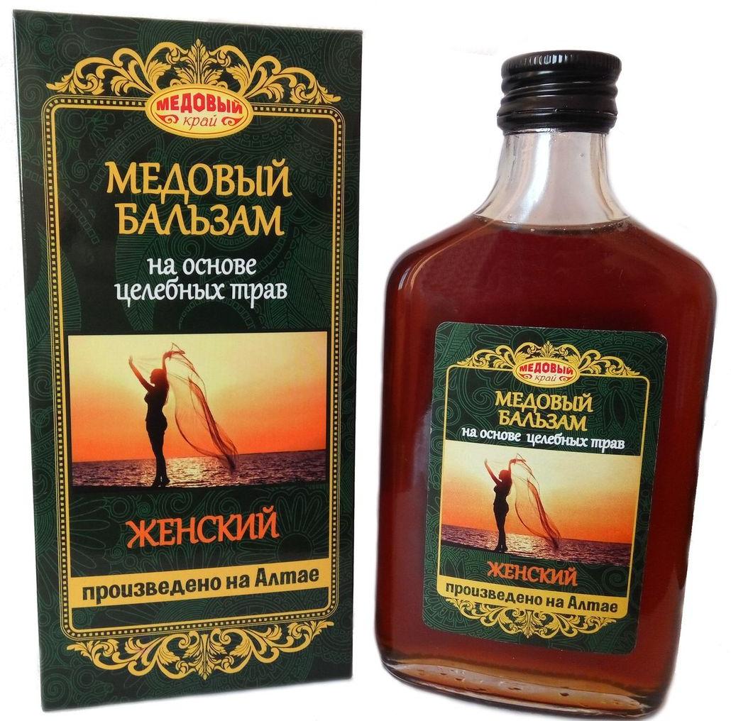 Медовый бальзам Медовый край Женский, 250 мл изделие из корневища 58