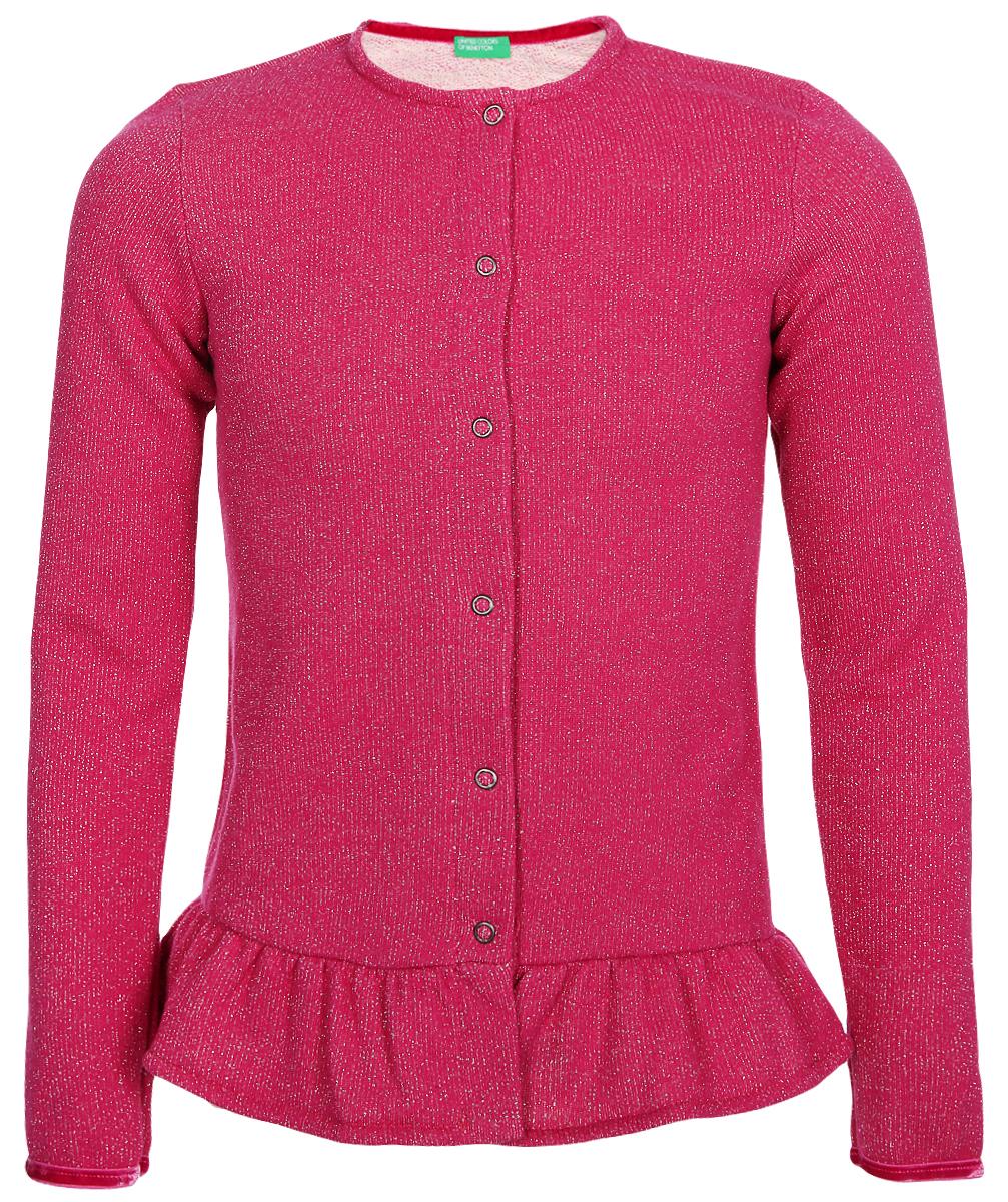 Кардиган United Colors of Benetton кардиган женский united colors of benetton цвет бордовый 1012d5079 65z размер m 44 46