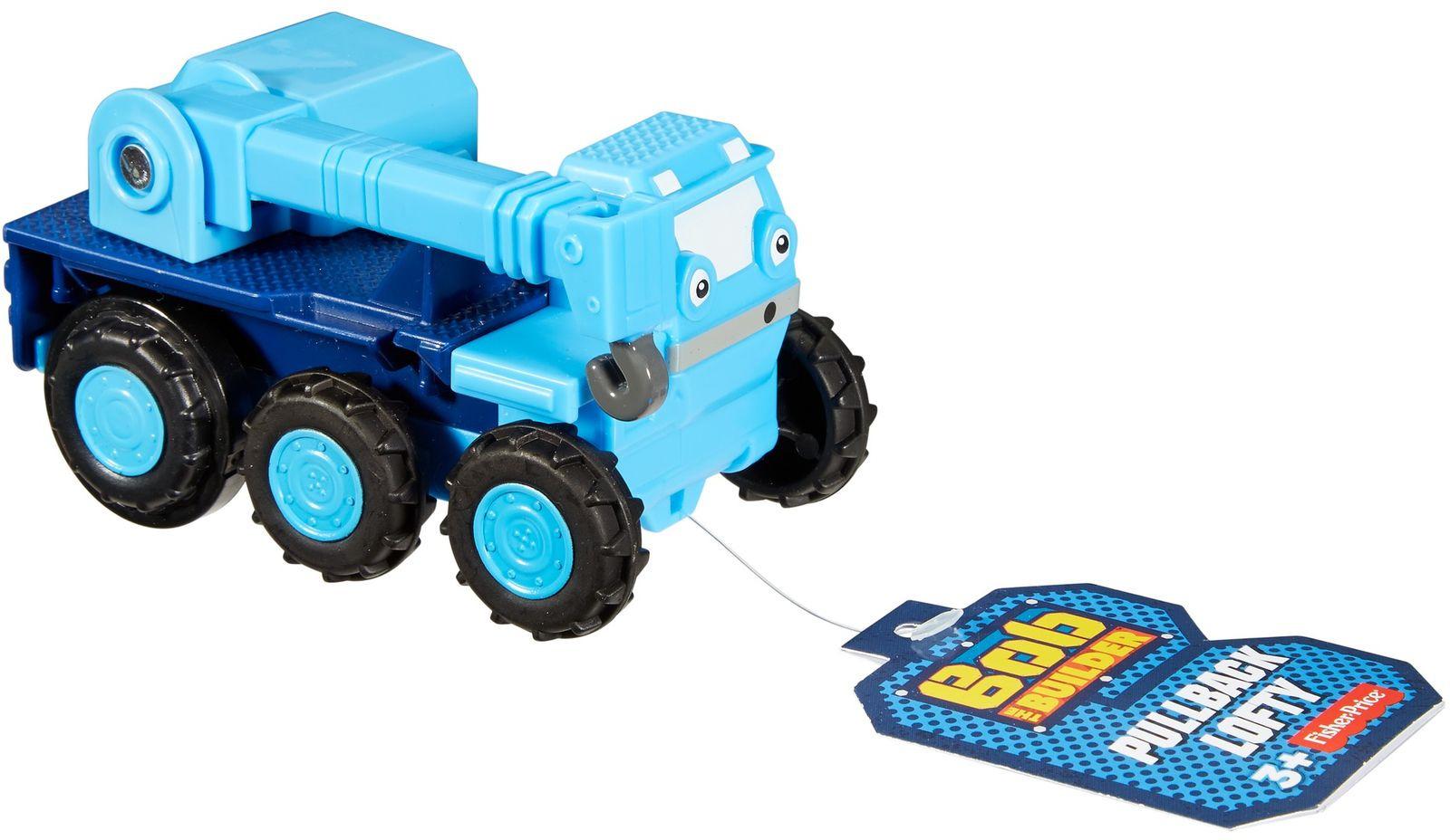 Bob the Builder Машинка инерционная цвет синий bob the builder машинка инерционная цвет синий