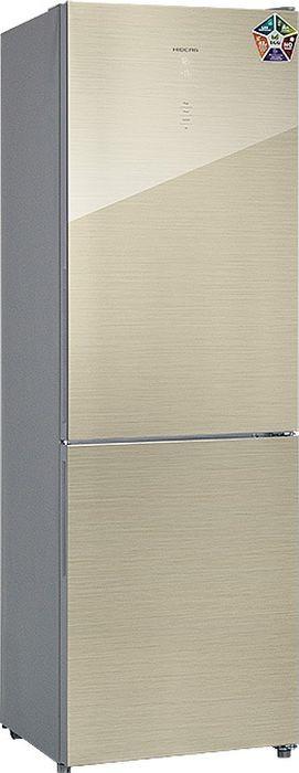 Холодильник Hiberg RFC-311DX NFGJ, шампань