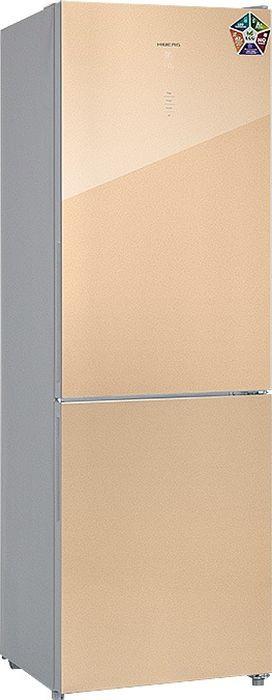 Холодильник Hiberg RFC-311DX NFGY, бежевый