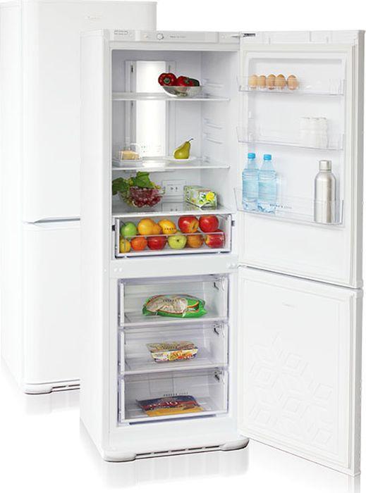 лучшая цена Холодильник Бирюса Б-320NF, двухкамерный, белый